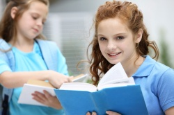iStock-Girl with book