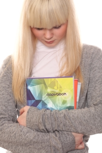 Photl - Blonde girl with book