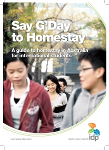 G'Day to Homestay