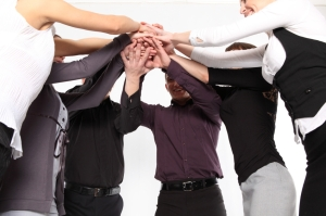 Business - Group - team hands