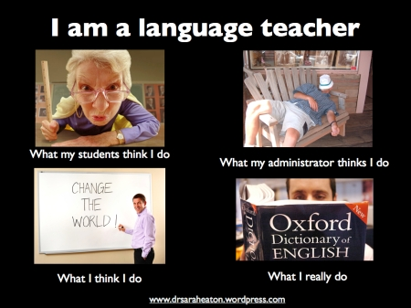 Sarah Elaine Eaton I am a language teacher speaker presenter humor funny
