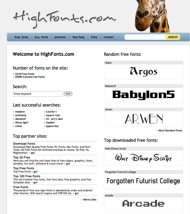 Highfonts.com - Sarah Eaton blog educator