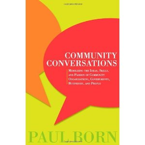 Paul Born community conversations book cover