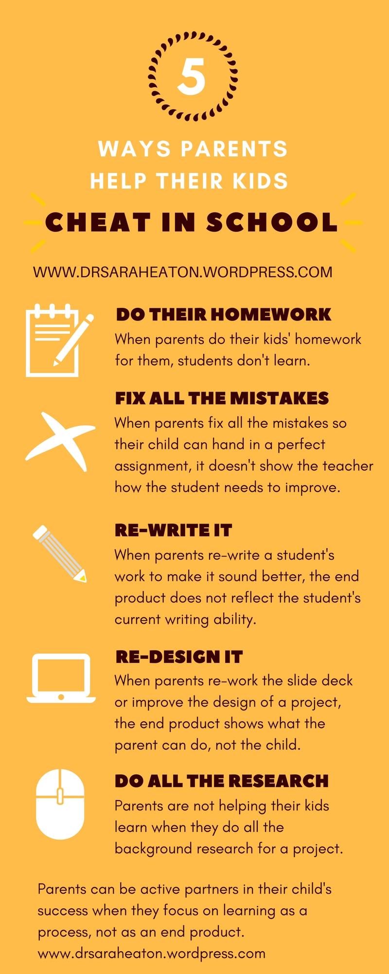 5 ways parents help their kids cheat in schoolg fandeluxe Choice Image