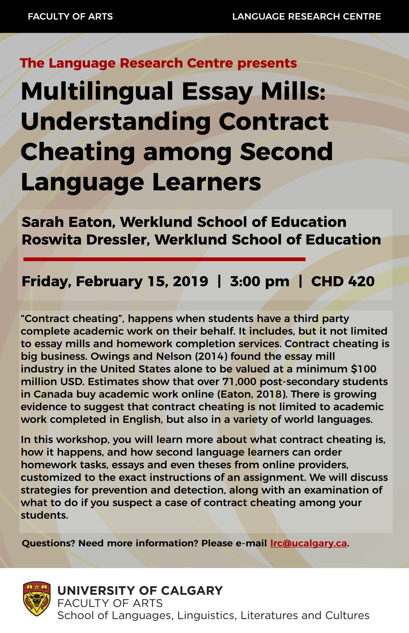 Contract Cheating_Poster - LRC Workshop