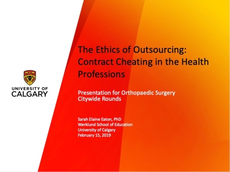 Title slide - Orthopaedic surgery rounds