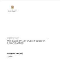 Cover - Race-based data in student conduct