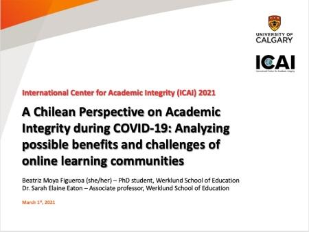 Moya & Eaton #ICAI2021 - Slide 1